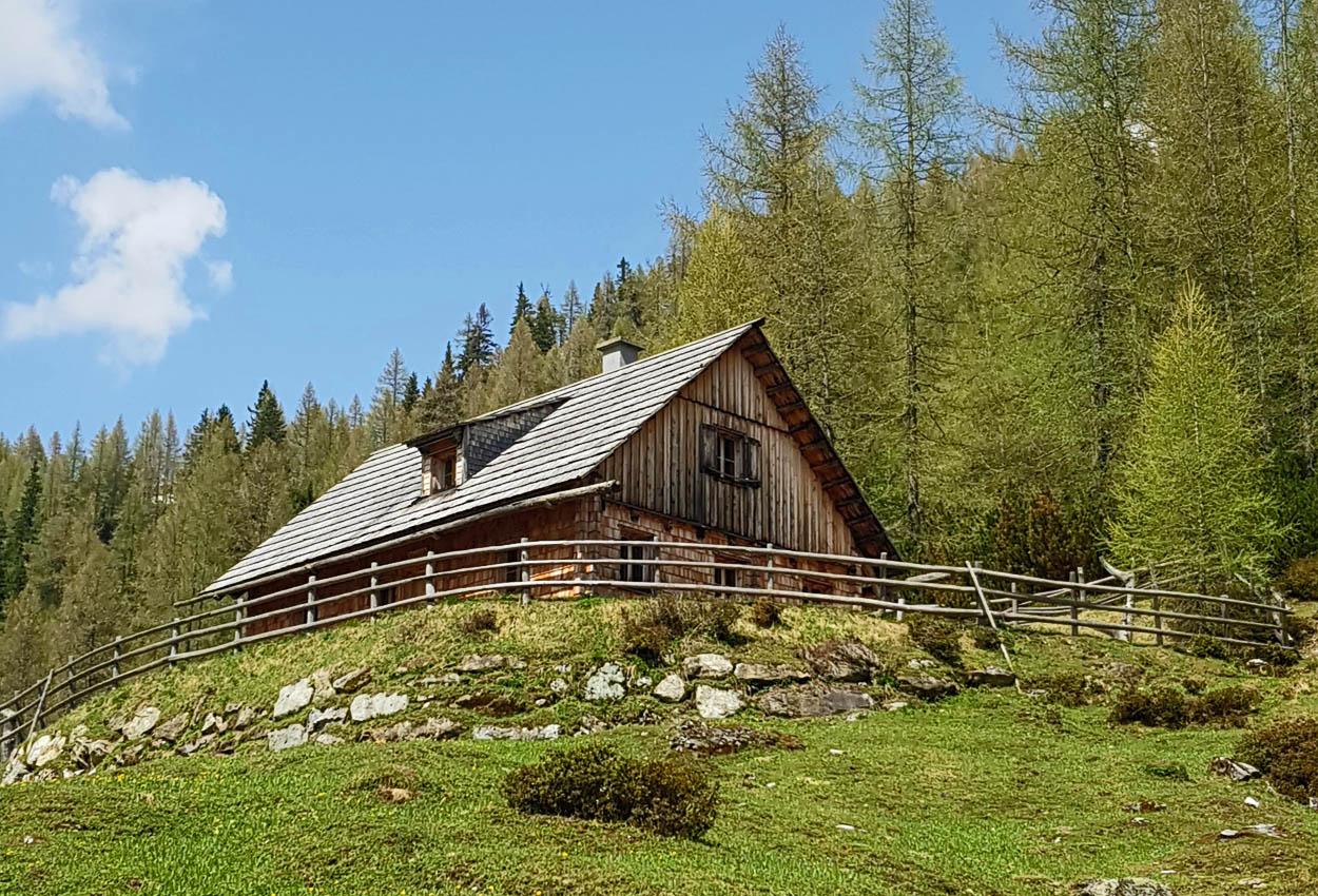 Alm Urlaub Hütte Lungau