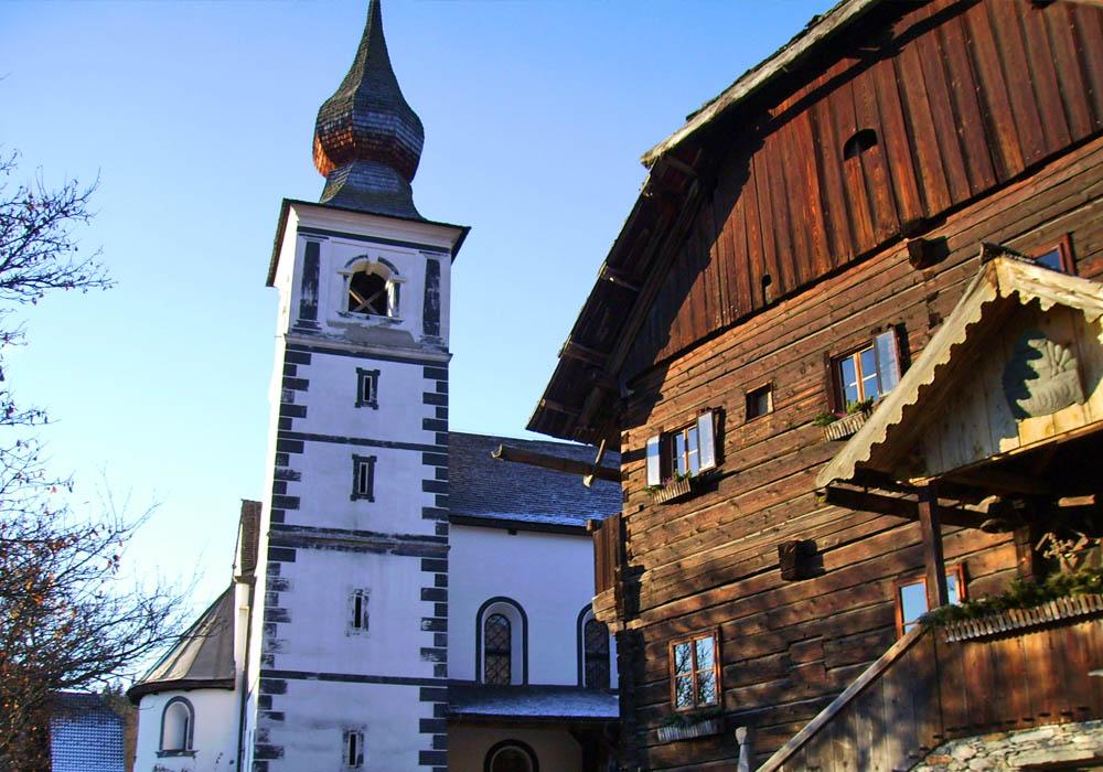 Kirche St. Rupert in Weißpriach