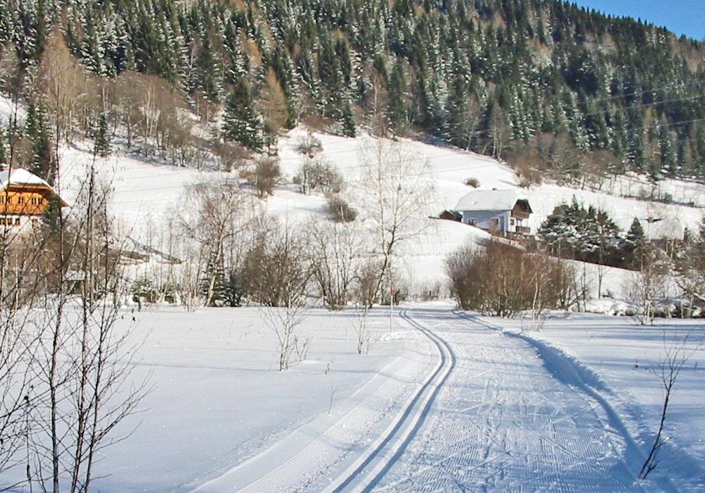 Langlaufen in Weißpriach