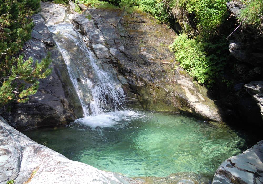 Wasserfälle Landschfeld Weißpriach
