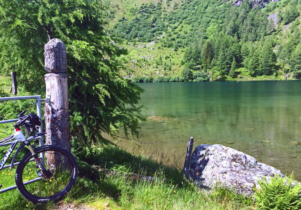 Mountainbike Bergsee Lungau