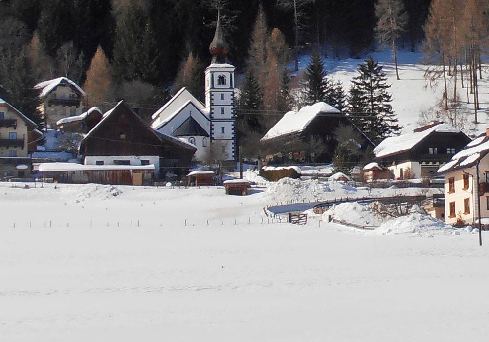 Winterurlaub in Weißpriach
